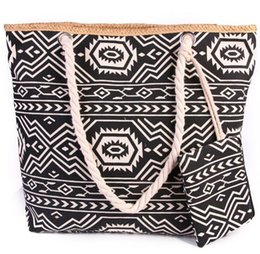 $enCountryForm.capitalKeyWord UK - 20pcs New Beach Bags Colorful Printing Female Canvas Bag Shoulder Bag Korean Wild Large Capacity Simple Wild Totes with coin purses