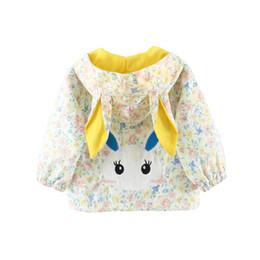 $enCountryForm.capitalKeyWord UK - Dollplus New Kids Girls Jacket Coat Spring Autumn Children Clothes Cartoon Hooded Outerwear Coat Girls Jackets Long Sleeve Top