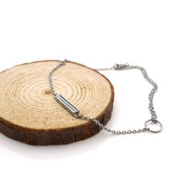 Wear Bracelet Australia - Bracelet ARBSS039-steel New 316L white shell inserted 270mm adjustable size chain unisex daily wear prefect gift jewelry