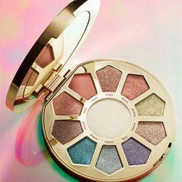 $enCountryForm.capitalKeyWord Australia - Top Makeup Believe In Yourself Limited Ed Eyeshadow Palette Cheek Palette Eyes Makeup 11colors Eyeshadow Golden Disk in stock