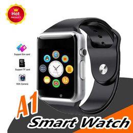 $enCountryForm.capitalKeyWord Australia - Bluetooth Smart Watch A1 Wrist Watch Men Sport iwatch style watch for IOS Apple Android Samsung smartphone DHL free