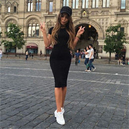 Cap Sleeved Dresses Australia - Sexy Sling Hollow Bandage Waist Womens Dress Womens Fashion New Hot Sale Bag Hip Single Piece Ladies Short-sleeved Summer Dress 2019