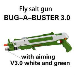 12 Types Bug Salt Fly Gun Salt and Pepper Bullets Blaster Airsoft for Bug Blow Gun Mosquito Model Toy Salt Gun Party Gifts on Sale