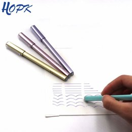 $enCountryForm.capitalKeyWord Australia - 1 Pcs Random Erasable Pen 0.38mm Blue black Ink Refill Gel Pen Rod For Handle School Office Supplies Tool Stationery