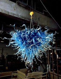 Cheap Quality Kitchens Australia - High Quality Home Interior Lihgt Pendant Special Design Blue Dale Chihuly Cheap Small Blown Glass Chandelier Light