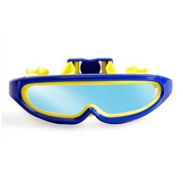 swim masks 2019 - Children Big Frame Professional Swimming Glasses Anti-Fog Kids Waterproof Swimming Goggles Boys Girls Child Swim Mask Ey