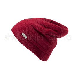 skiing beanies Canada - Woman Soft Knitted Skull Hats Fashion Winter Warm Ski Crochet Cap Causal Outdoor Knitting Beanie Cap Party Hat TTA1641