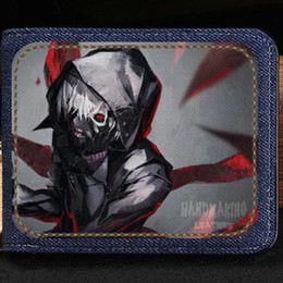 $enCountryForm.capitalKeyWord Australia - Kaneki Ken wallet Tokyo Ghoul anime purse Classic cartoon short cash note case Money notecase Leather jean burse bag Card holders