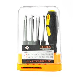 high precision tools NZ - 8PCS Screwdriver Set Carbon Steel High Precision Magnetic Screwdriver Sets Electronic Device Opening Dismantle Repair Tool
