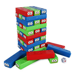 $enCountryForm.capitalKeyWord Australia - China Supplier Hot Funny Popular Kids Plastic Toy colorful plastic desktop stacking cube game stacking block for 2-4 players game set