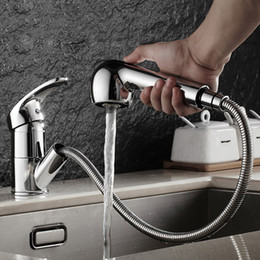 $enCountryForm.capitalKeyWord NZ - Brushed Kitchen Faucet Pull Out With Spray Kitchen Tap Torneira Cozinha Sink Single Handle Deck Mounted 360 Rotation Tap