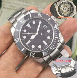 AAA Luxury brand Sapphire 2813 automatic movement Glide lock clasp WATCHES Ceramic Bezel 316L Stainless Steel Men's Watch sports Watches from belt purses suppliers