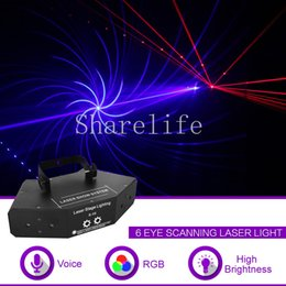 Stage Lighting Effect Sharelife 4 In 1 Rg Laser Gobos Mix Strobe Par Lamp Rgbwy Beam Led Light Home Gig Party Dj Show Professional Stage Lighting X132