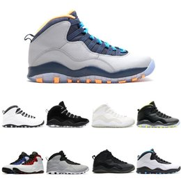 venom shoes Australia - 10 Basketball Shoes 10s I'm back cool grey infrared fusion red venom Powder Blue men Sports Sneakers 40-47
