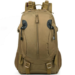 Rifle backpack bag online shopping - Men Women Outdoor Military Tactical Backpack Camping Hiking Rifle Bag Trekking Sport Travel Rucksacks Climbing Bags S275