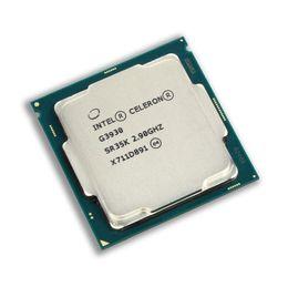 Опт Intel Celeron G3930 2.90 GHz 2m кэш двухъядерный процессор процессора SR35K LGA1151 лоток