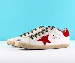 vsale sneakers geox cnkja b Scarpe di lusso Genuine Leather Villous Dermis Men Women Luxury Superstar trainers 35 46