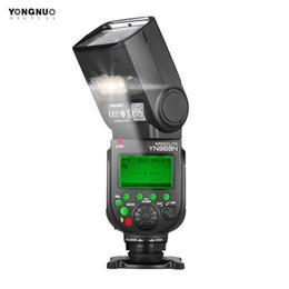 Discount yongnuo flash speedlite - Universal Wireless TTL Flash Speedlite LED Fill Light for Canon Nikon Sony DSLR Cameras 5600K Compatible with YN622N YN5