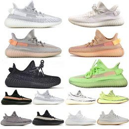 gold designer sneakers 2020 - Kanye Gid Glow Clay True Form Black Reflective Static Running Shoes Men Women Zebra Beluga Sesame Mens Trainers Designer