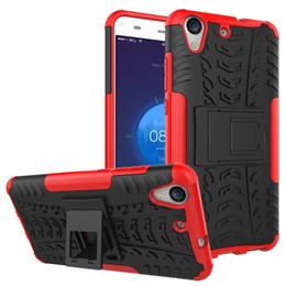 d120f84fae69 Armor case For Huawei Y3II Y5II Y6II Y5 2017 P10 P20 Lite Y6 Y9 2018 Mate20  Nova3i Shockproof Multifunction with kickstand slip proof Grain