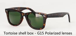 $enCountryForm.capitalKeyWord Australia - Wholesale-Top Quality Polarized Sunglasses men Brand Designer plank frame Metal hinge polaroid lens Retro Eyewear with box and label