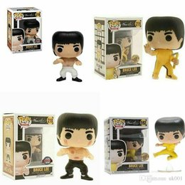 $enCountryForm.capitalKeyWord Australia - Beauty Funko pop BRUCE LEE Action Figure Anime Model Pvc Collection Toys Brand New Gift