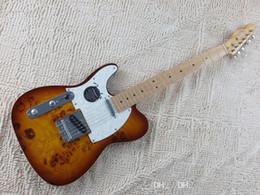 $enCountryForm.capitalKeyWord NZ - Quality Maple fingerboard F Left Handed Telecaster Sunburst Electric Guitar White Guard Board