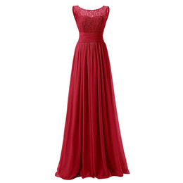 $enCountryForm.capitalKeyWord UK - Mingli Tengda Lace Bridesmaid Dresses Coral Chiffton Long Bridesmaid Dress Jewel Navy Formal Dress Pleated Wedding Guest Dress Royal Blue