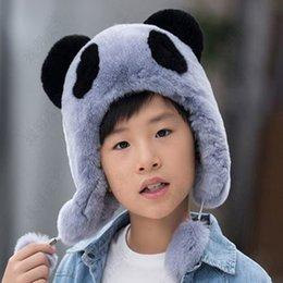 $enCountryForm.capitalKeyWord Australia - Children's fur hat rex rabbit fur scarves leather boys and girls Universal warm winter cold cap hat Teen