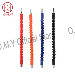 ElEctronics links online shopping - OMY mm Electronics Drill Black Flexible Shaft Bits Extention Screwdriver Bit Holder Connect Link Bit Holder Connect Rod Tools