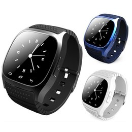 Smart Watch Android Sync Australia - Smart Watch M26 Woman Men Bluetooth Altimeter Stopwatch Smartwatch Sync Music Pedometer Anti-Lost For Android Apple IOS IPhone X 8