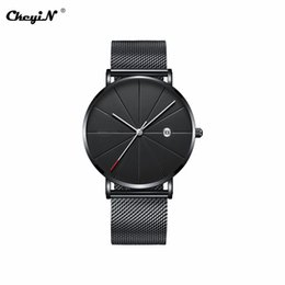 $enCountryForm.capitalKeyWord Australia - Stainless steel Quartz Wrist Watch Men Point Type Quartz Watch Ultrathin Business Fashion Analog Casual Male Clock Wristwatch