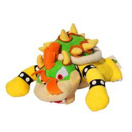 $enCountryForm.capitalKeyWord Australia - Super Mario Bone Kubah Dragon Koopa Bowser Plush Toy 2 Styles Children Cartoon Soft Plush Stuffed Kids Dolls Yellow Bowser Wholesale