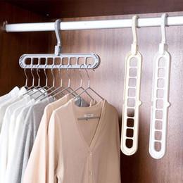 $enCountryForm.capitalKeyWord Australia - Multifunction Support Clothes Drying Rack Creative Clothes Hanger Plastic Scarf Clothes Hangers Hangers Home Storage Racks SY0035