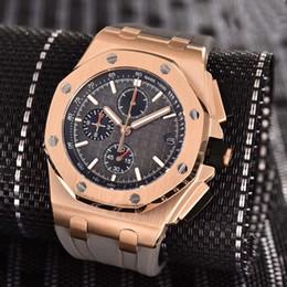 $enCountryForm.capitalKeyWord Australia - 2019 Top Quality Luxury Men's VK Chronograph Watch Japanese Quartz Rubber Strap Sports Men Mens Watch Watches Wristwatch