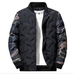 $enCountryForm.capitalKeyWord Australia - Mens Winter designer jacket Long Sleeve New Cotton Coat Men Trend Handsome Casual Down Jackets Thick Mens Zipper Clothes Plus Size Hoodies