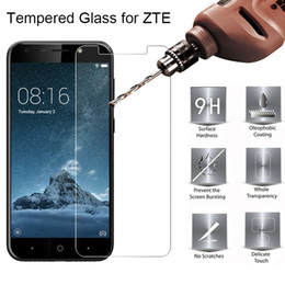 $enCountryForm.capitalKeyWord Australia - Toughed Screen Glass for ZTE Blade A2 Plus A3 A6 Tempered Glass for ZTE Blade L3 Plus L2 9H HD Hard on L5