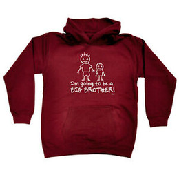 $enCountryForm.capitalKeyWord Australia - Funny Kids Childrens Hoodie Hoody Im Going To Be The Big Brother