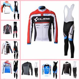 $enCountryForm.capitalKeyWord Australia - CUBE Cycling Jersey set Long Sleeve Racing Bike maillot Pro Cycling Clothing Mtb bicycle Clothes Wear Ropa Ciclismo Sportswear X71589