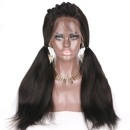 $enCountryForm.capitalKeyWord Australia - Top selling lace front Wig and full lace unprocessed human hair wig for with baby hair Glueless Customized Free Shipping for black women