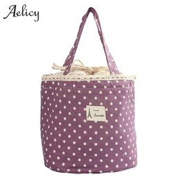 shipping cooler boxes 2019 - Aelicy drop ship new 2019 hot selling Thermal Insulated Lunch Box Tote Cooler Bag Bento Pouch Lunch Container bolsa femi