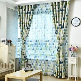 $enCountryForm.capitalKeyWord Australia - Jarl home Blackout Curtains for Bedroom, Living Room Curtain 2 Panels Set, Triangles Polygon Patterns Vibrant Colors