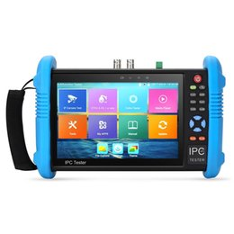 Wholesale New Inch Touch Screen CCTV Tester Monitor IP Analog Cameras Testing MP WIFI Onvif PTZ control POE V output