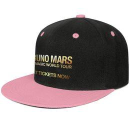 $enCountryForm.capitalKeyWord Australia - Bruno Mars 24K Magic World Pink mens and womens trucker flat brim cap cool designer golf cool fitted team stylish classic flat brim hats