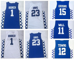 Fox wear online shopping - TOP Personality Kentucky College Trainers BOOKER DAVIS ADEBAYO WALL COUSINS FOX Towns Basketball jerseys shirts WEARS