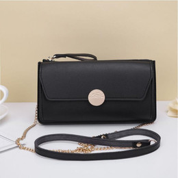 New Model Ladies Handbags Australia - 2019 Asian and American new explosion models ladies wallet large capacity long handbag zipper diagonal shoulder bag fashion Europe and Ameri