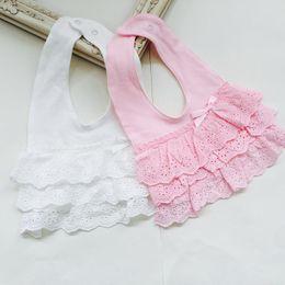 Lace bibs online shopping - High Quality Baby Bibs Bandana Bibs Burp Cotton Lace Bib Baby Girls Lovely Cute Bib Bandana Infant Saliva Towels