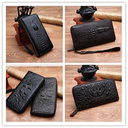 $enCountryForm.capitalKeyWord Australia - New Zippy XL Wallet round zipper travel case Black Purse Men Real Epi Leather M61506 Brown Passport bag Holder designer Damier Ebene clutch