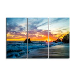 $enCountryForm.capitalKeyWord Australia - 3 pieces of HD print submarine surface canvas painting poster and wall art living room picture HDBM3-1H