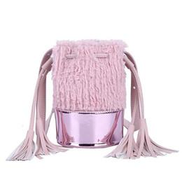7fdd7842c125 Fashion Cute Shoulder Messenger Bag Handbags Casual Pu Tassel Bucket  Crossbody Hand Bags For Women Ladies Girls Bag Purses Pouch